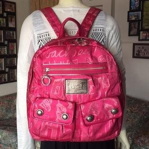Coach Poppy Storypatch Backpack
